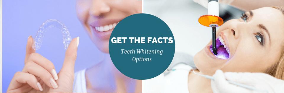 teeth whitening options